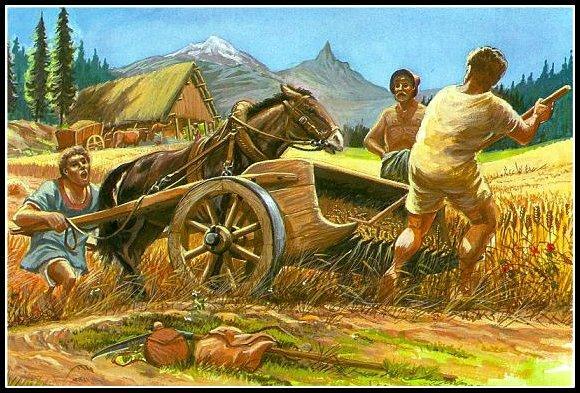 Agriculteurs celtes