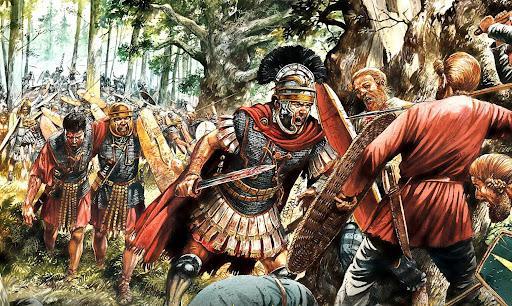 Celtes et Romains au combat