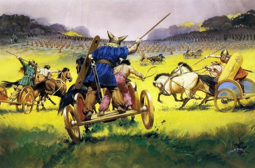 Chars de combat celtes