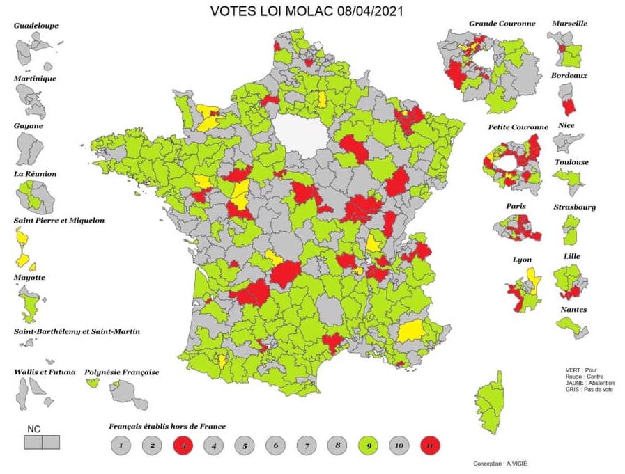 Votes Loi Molac