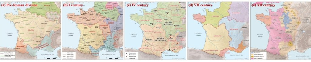 Frontières France histoire