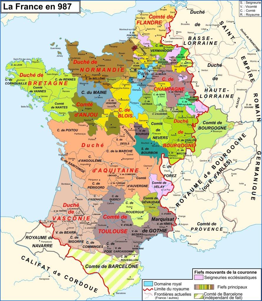 France 987 Hugues Capet