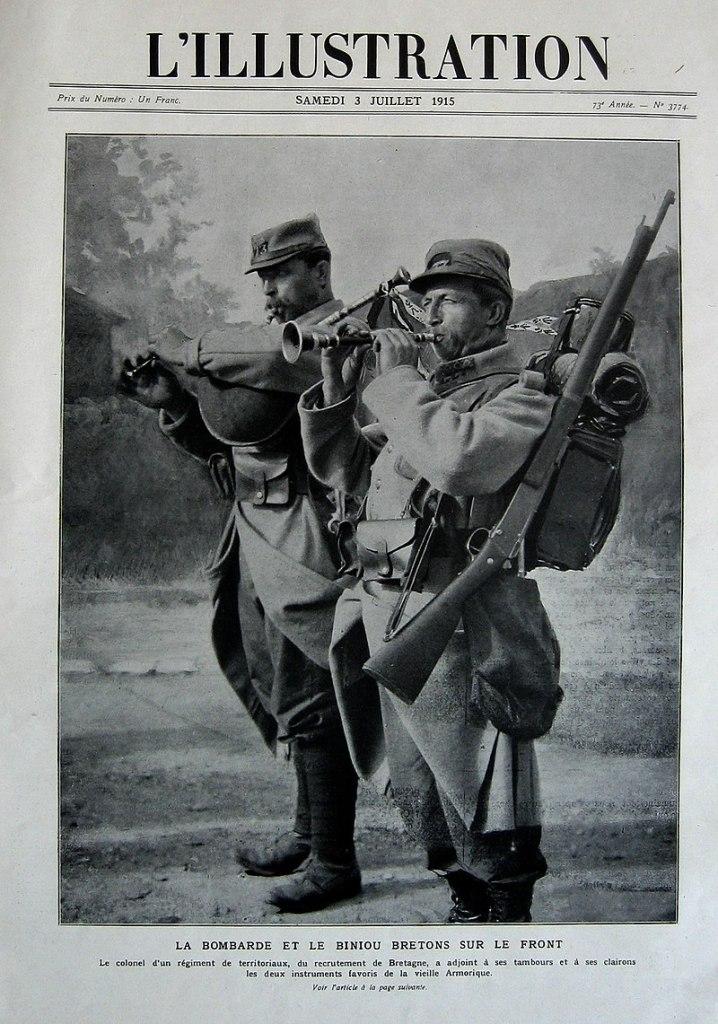 Bretons Première Guerre Mondiale